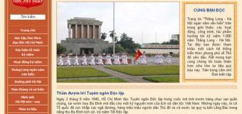 Khai trương website 1000 năm Thăng Long – Hà Nội