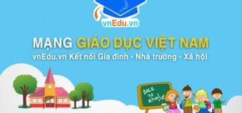 Mạng giáo dục Việt Nam vnEdu