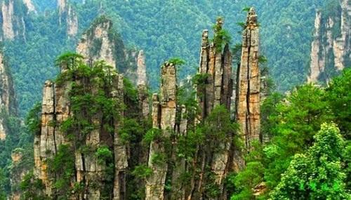 Dãy núi Tianzi-Trung Quốc