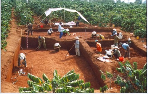 Cuộc khảo cổ tại Tây Nguyên