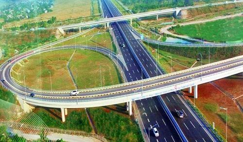 Cận cảnh cao tốc Hà Nội-Hải Phòng