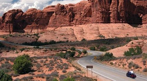 Đường Red Rock Scenic-Mỹ