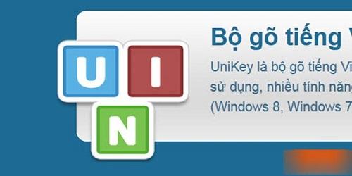 Unikey-bộ gõ tiếng Việt