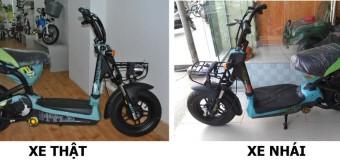 Cách phân biệt xe đạp điện thật và giả đúng đắn nhất hiện nay