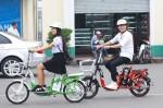 Có nên sử dụng xe đạp điện vào những nơi ngập nước không?
