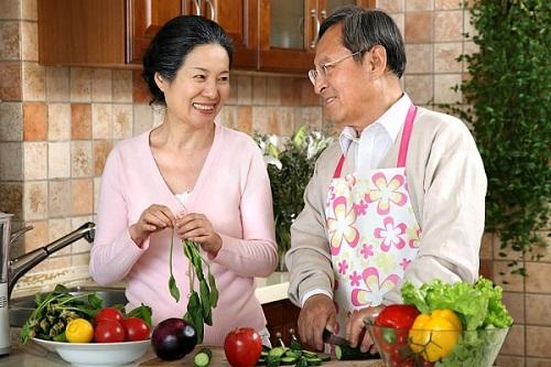 Dinh dưỡng hợp lý cho người cao tuổi