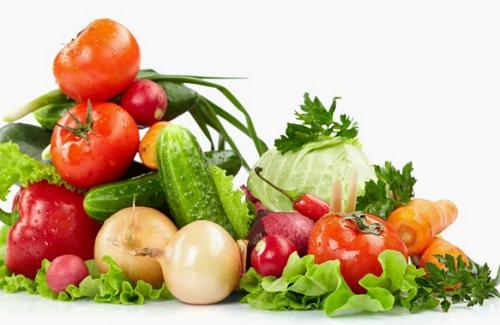 Nên ăn nhiều rau củ quả tốt cho hệ tiêu hóa