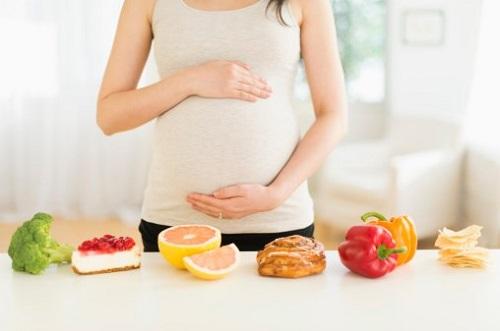 Chế độ ăn dinh dưỡng cho mẹ bầu