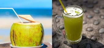 Những lưu ý cho mẹ bầu khi uống nước mía, nước dừa