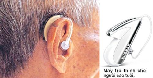 Lựa chọn máy trợ thính cho người cao tuổi