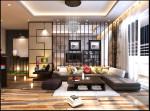 Công dụng của vách ngăn trong trang trí phòng khách