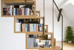 Cách thiết kế giá sách phù hợp với căn hộ