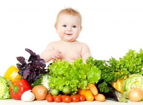 Các loại thực phẩm cho bé bị còi xương