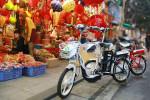 Xe đạp điện theo phong cách mô tô