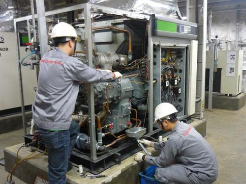 Hướng dẫn sử dụng máy nén khí tiết kiệm điện