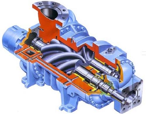 Cấu tạo của máy nén khí