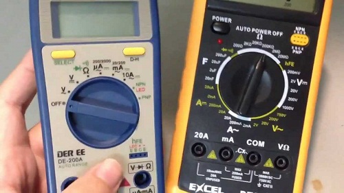 Đánh giá chất lượng đồng hồ đo vạn năng