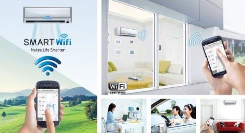 Điện lạnh thông minh điều khiển bằng wifi