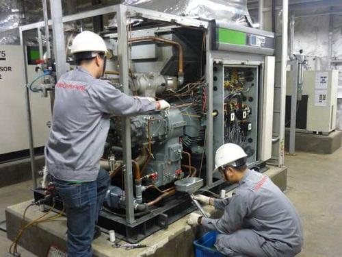 Hướng dẫn bảo dưỡng máy nén khí