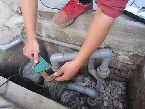 Lắp đặt máy bơm nước công nghiệp