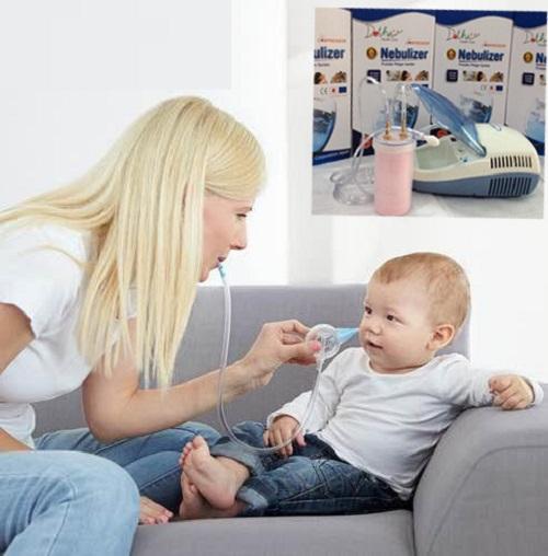 Những điều mẹ nên lưu ý khi sử dụng máy xông mũi cho bé