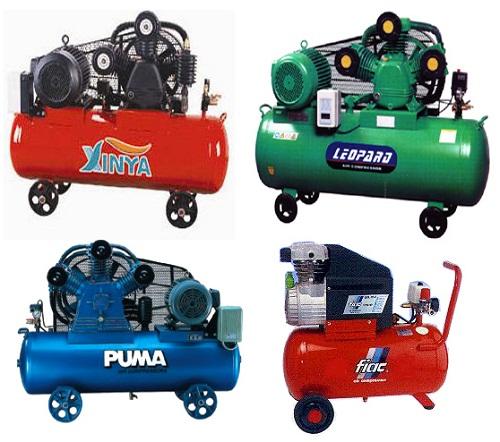 Phân loại máy nén khí dựa trên động cơ hoạt động
