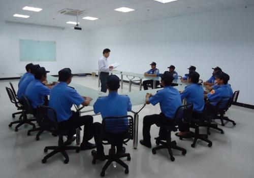 Quy trình đào tạo bảo vệ chuyên nghiệp