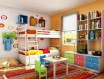 Trang trí phòng cho trẻ từ 4 – 11 tuổi