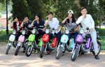 Tổng giám đốc của hãng xe đạp điện Nijia giới thiệu dòng xe phanh đĩa mới tại Việt Nam