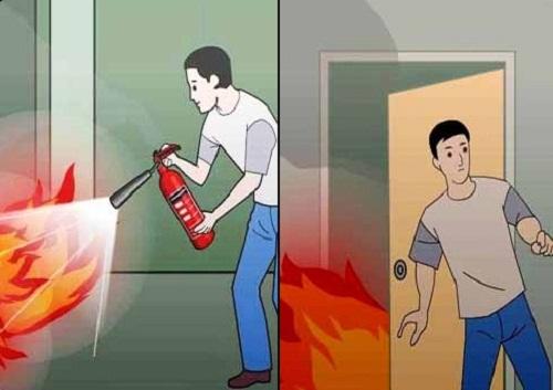 Xử lý khi có đám cháy