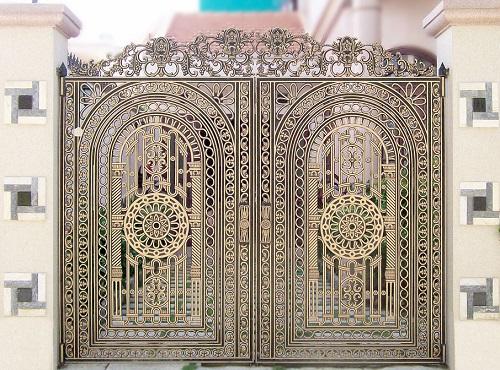 Lựa chọn cửa cổng sắt phù hợp cho ngôi nhà