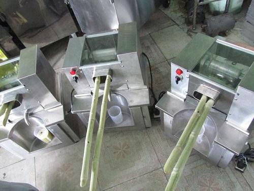 Các loại máy ép nước mía trên thị trường