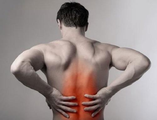 Điều trị đau lưng bằng đèn hồng ngoại