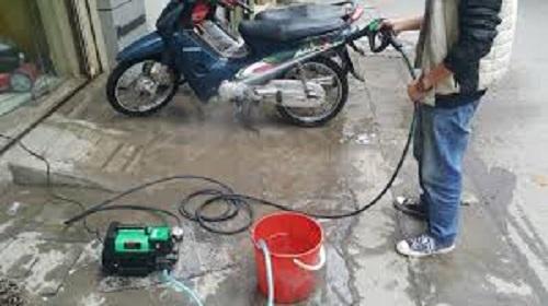 Nhu cầu sử dụng máy rửa xe gia đình