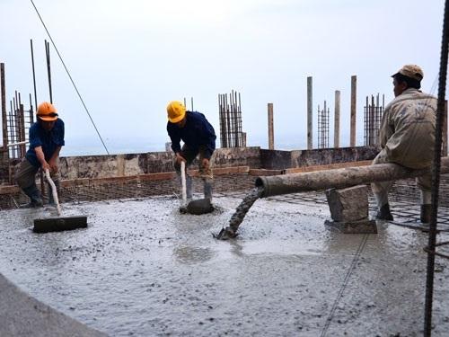 Sản xuất bê tông tự trộn