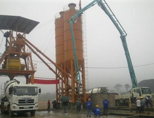 Quy trình sản xuất bê tông tươi