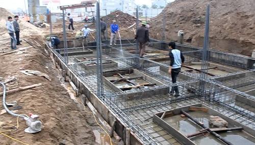 Tổng hợp các loại móng xây nhà
