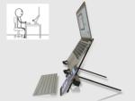 Khám phá sự tiện lợi của giá đỡ laptop X Stand