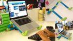 Tự chế giá đỡ laptop tại nhà bằng ống dẫn nước