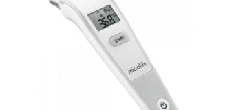 Hướng dẫn sử dụng nhiệt kế đo trán cho bé