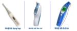Nhiệt kế điện tử: Các loại nhiệt kế thông dụng