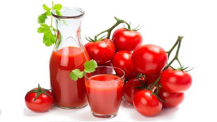 Điều trị sẹo rỗ trên mặt bằng cà chua