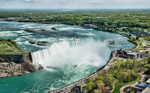 Thác Niagara hùng vĩ, nên thơ