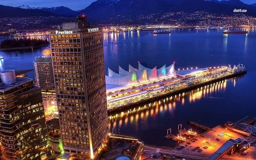 Thành phố thơ mộng Vancouver