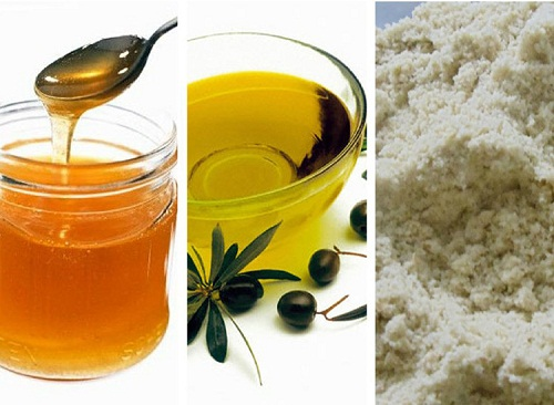 Tẩy tế bào chết cho môi bằng đường, mật ong và dầu oliu
