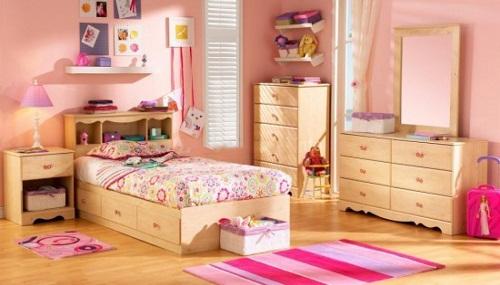 Thiết kế phòng ngủ cho bé yêu với sàn công nghiệp