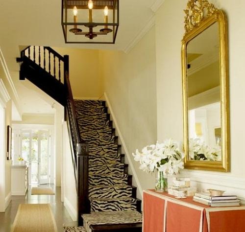 Thảm cầu thang màu độc đáo
