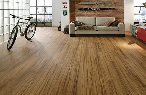 Ván sàn gỗ tự nhiên an toàn cho sức khỏe gia đình