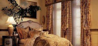 Chọn rèm cửa với phong cách cổ điển cho khách sạn của bạn