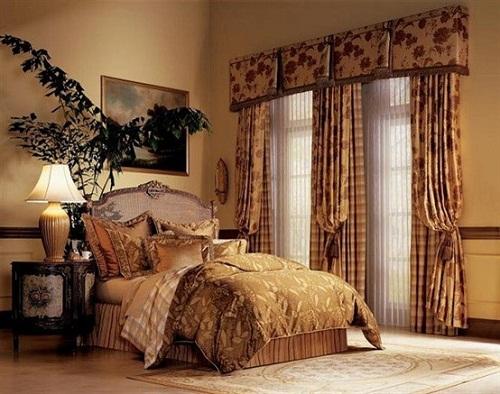 Mẫu rèm cửa cổ điển cho khách sạn 2